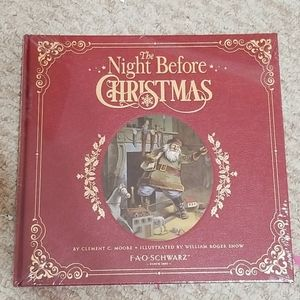 🆕️NWT! The Night Before Christmas Book